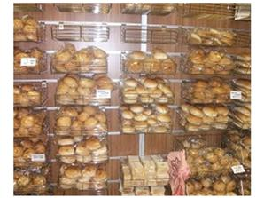 BREAD DISPLAY STAND